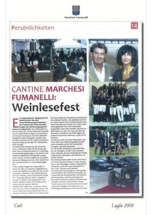 Cantine Marchesi Fumanelli Weinelfest
