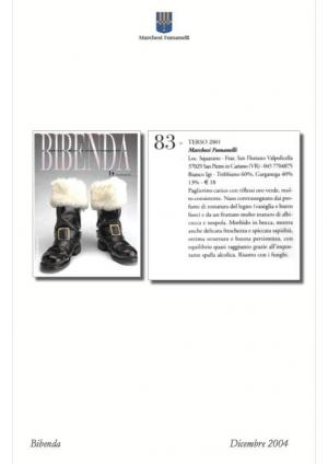Pubblicazione su rivista Bibendo per Terso bianco
