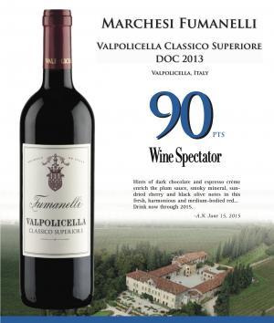 Valpolicella Classico Superiore, 90 Points Wine Spectator!!!